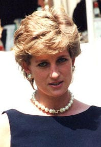 Lady Diana Spencer Princess of Wales
