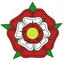 The Tudors symbol the Tudor Rose