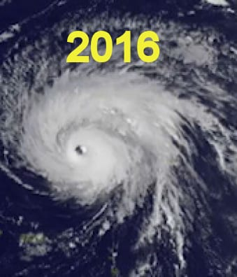 2016 Hurricanes and Storms