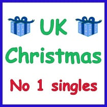 UK Christmas No 1 Singles