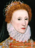 English History 1580 - 1589 Queen Elizabeth I