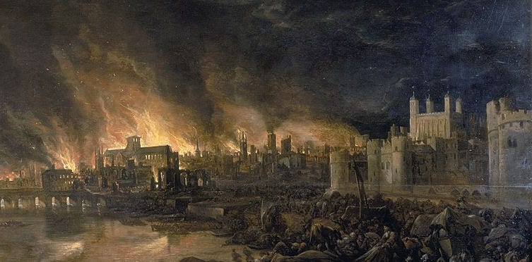 Popular Events Timelines Great Fire of London