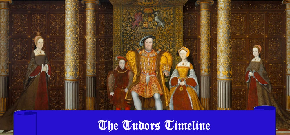 The Tudors Timeline