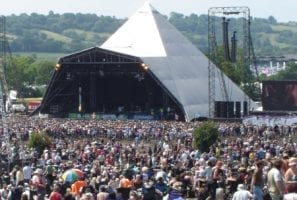 Glastonbury Headliners courtesy Wikipedia