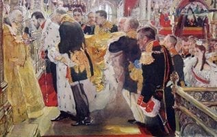 Coronation of Nicholas II Tsars of Russia