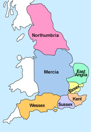 Kings of Mercia - Anglo Saxon England