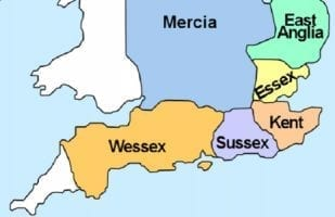 Wessex on a Map Kings of Wessex