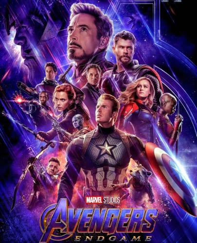 Top Box Office Films - Avengers End Game